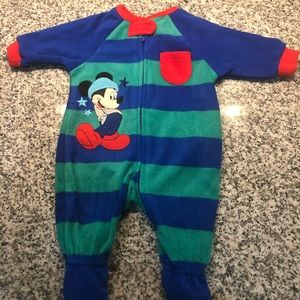 Disney baby one piece for baby boy.